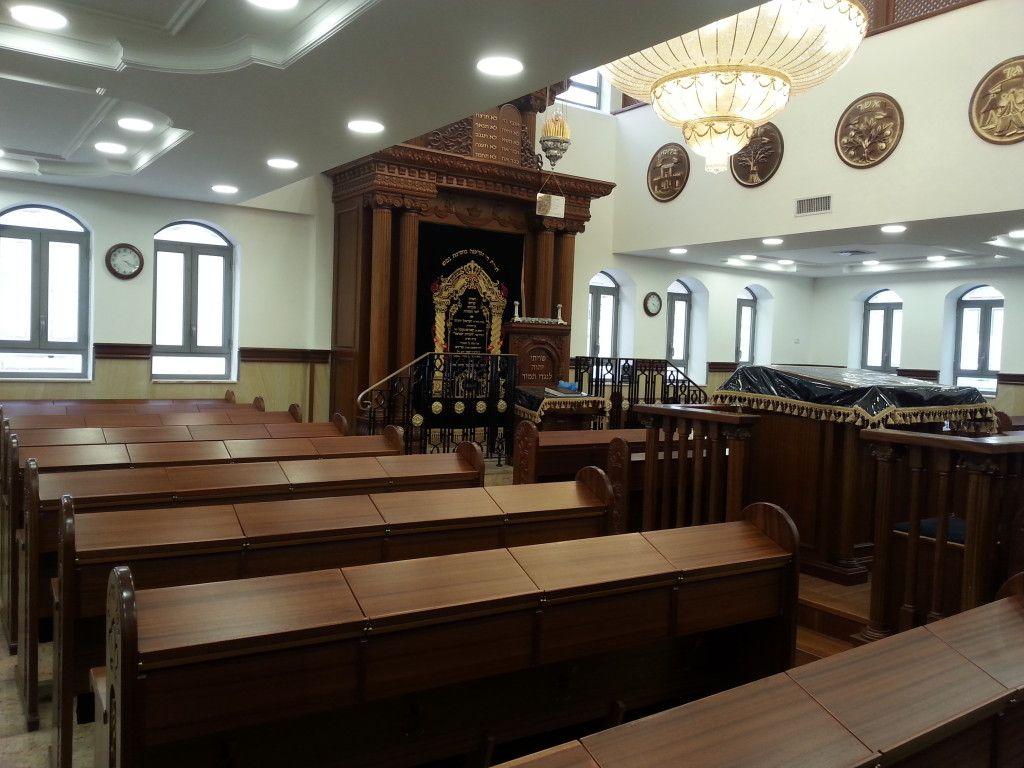 בית הכנסת החסידי המחודש