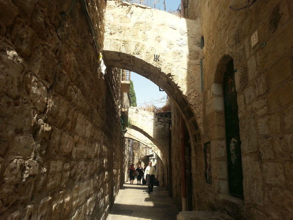 רחוב א-סידה ברובע המוסלמי