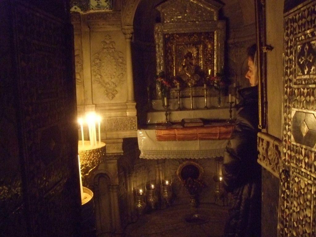 הקפלה ובה קבור ראשו של ג'יימס (יעקב) הקדוש בכנסית סנט ג'יימס הארמנית