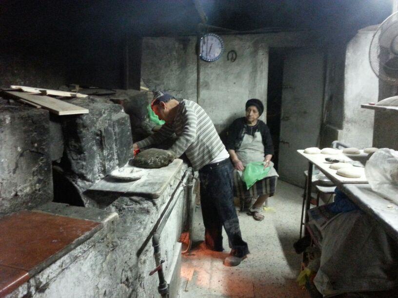 מאפית אש תנור בשכונת הבוכרים