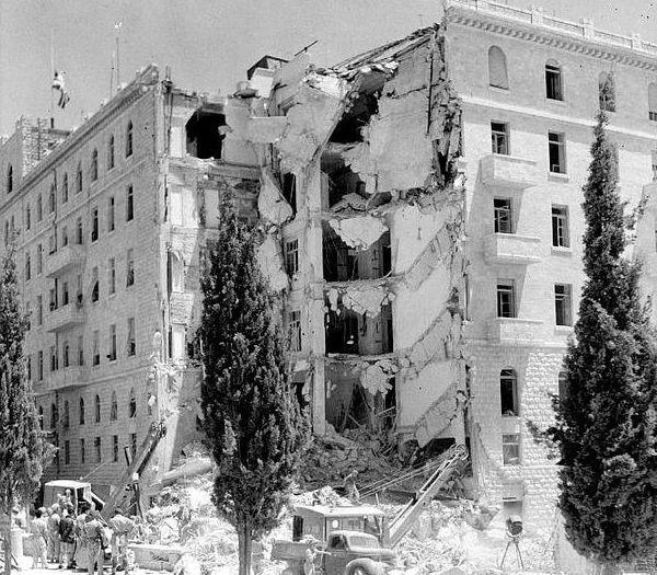 המלון לאחר הפיצוץ (מתוך ויקיפדיה)