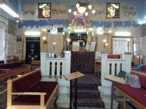 בית כנסת אוהל משה מבפנים