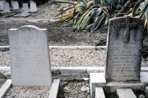קברו של מסגרייב ולידו עוד הרוג מהפצוץ במלון קינג דייויד