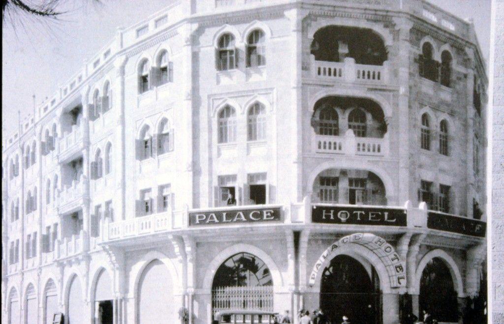 בית המלון לאחר הקמתו