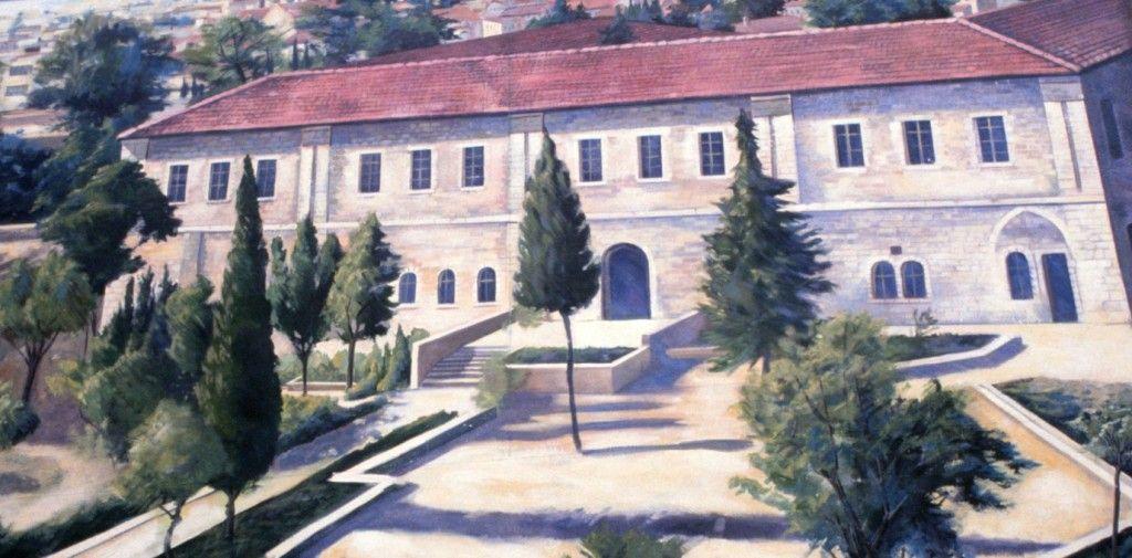 """בית הספר המקצועי. ציור קיר - קבוצת האמנים """"cite de la creation"""""""