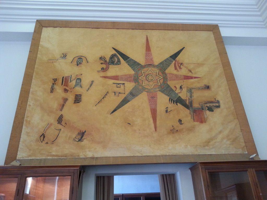 ציור הקיר במוזיאון המכון האפיפיורי
