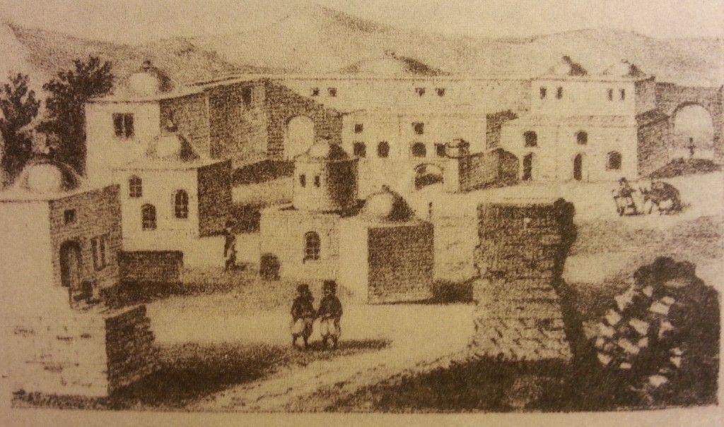 חורבת ר' יהודה החסיד לפני בנייתה