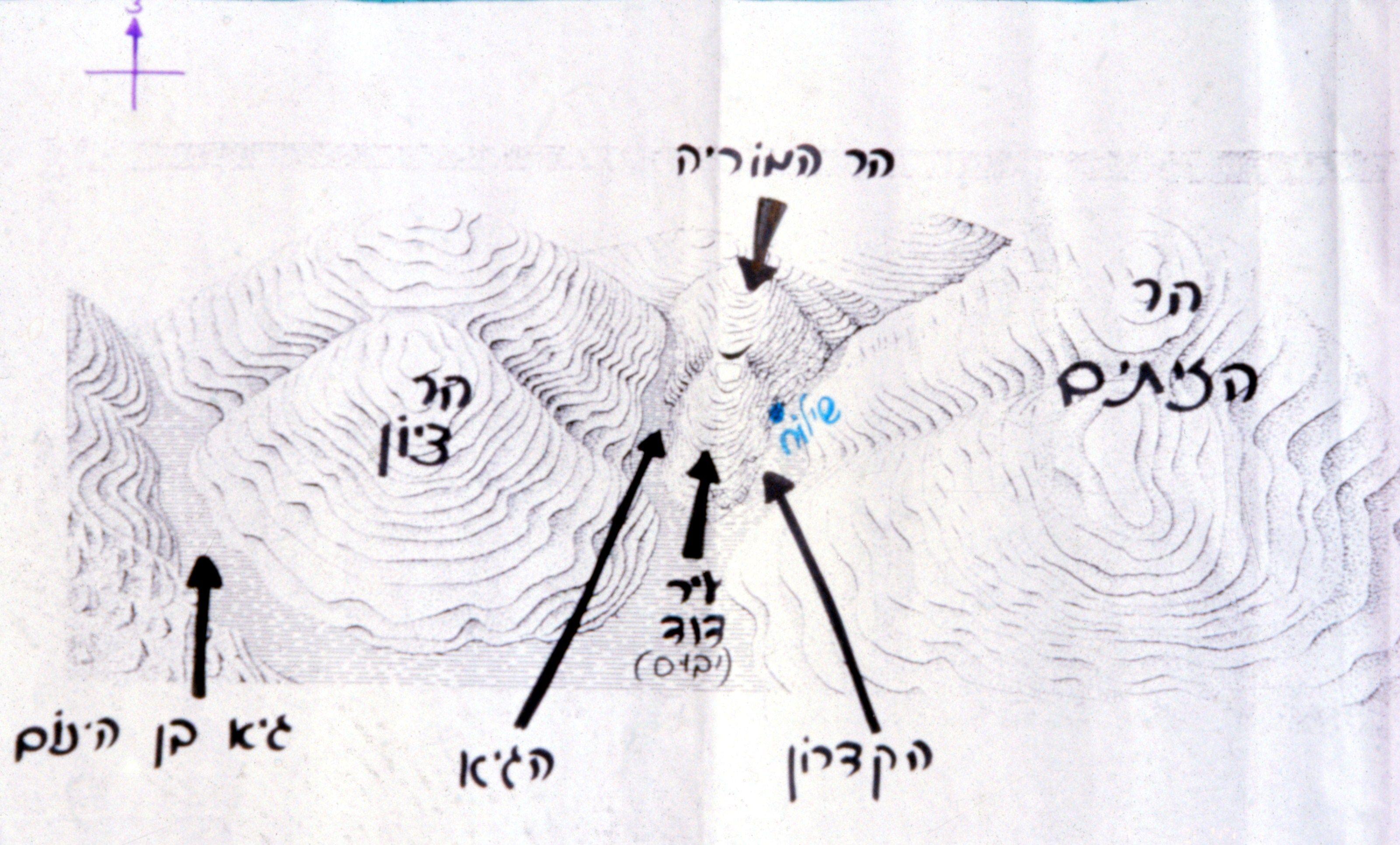 מבנה אזור עיר דוד