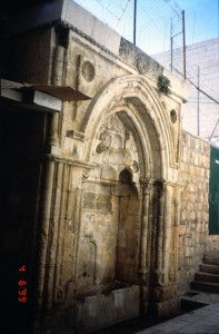 אחד הסבילים (שקתות) שבנה סולימן בירושלים