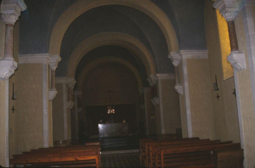 הכנסיה במנזר סנט קלייר