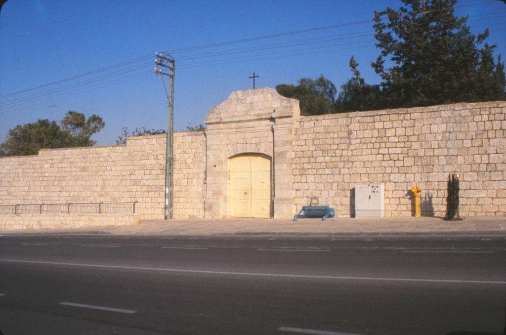 חומת מנזר סנט קלייר