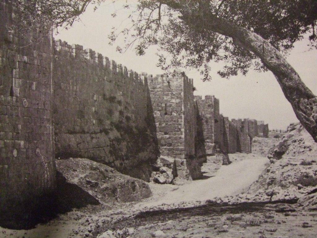 חומתה הצפונית של ירושלים