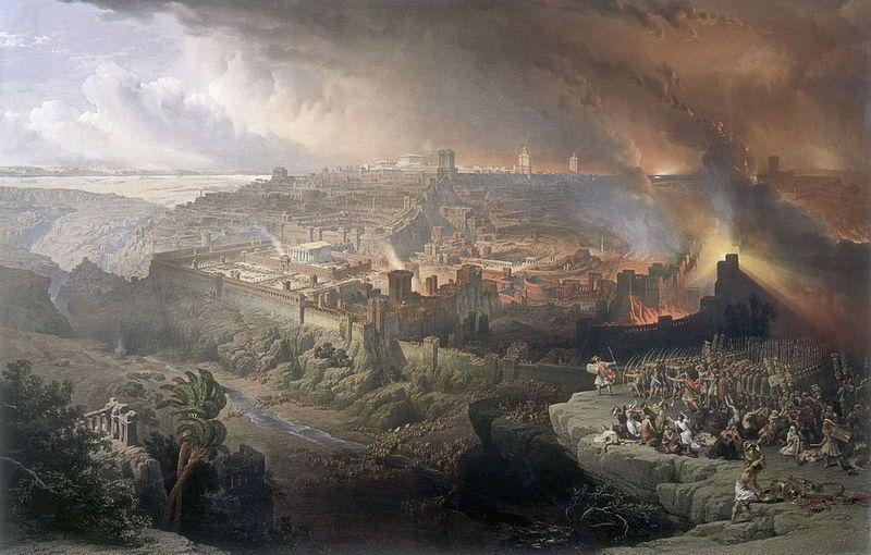 הרומאים חונים על ירושלים (רוברטס)