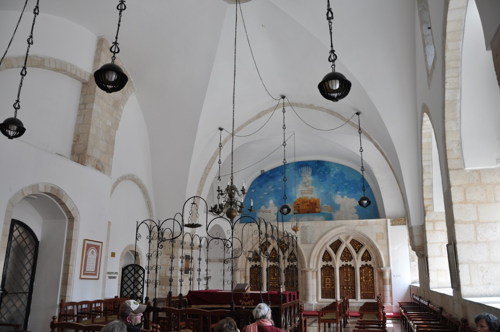 בית כנסת רבן יוחנן בן זכאי - אחד מארבעת בתי הכנסת הספרדים