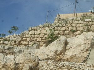 חומת נחמיה בשטח E