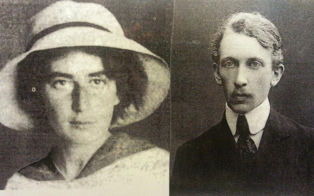 המשוררת רחל ואהובה מיכאל ברנשטיין