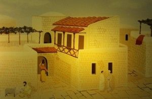 הדמיה של בית ביזנטי