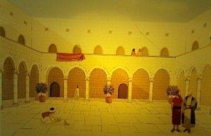 הדמיה של הארמון האומאי