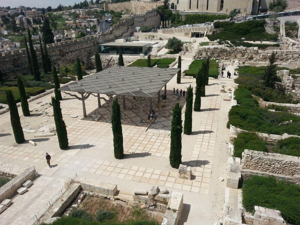הגן הארכיאולוגי ומרכז דוידסון