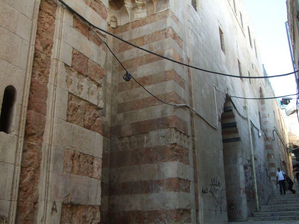 מבנה ממלוכי בעיר העתיקה