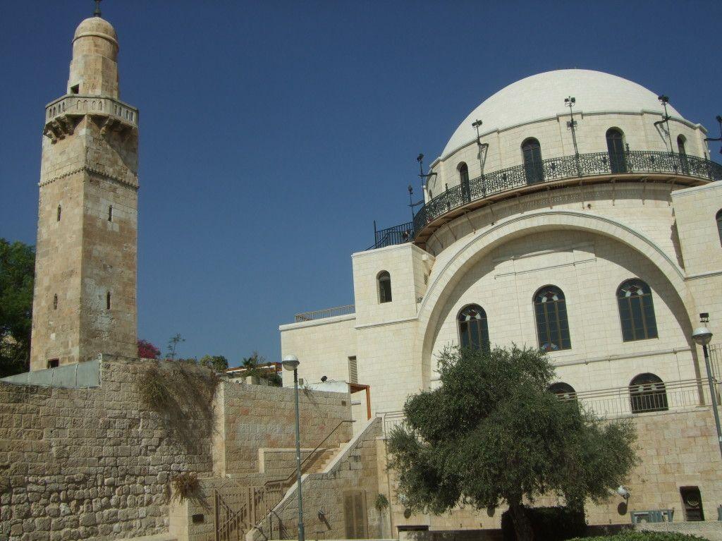 """בית כנסת """"החורבה"""" ברובע היהודי"""