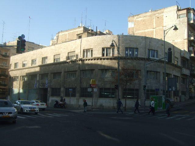 בנין הכנסת הישנה ברחוב המלך ג'ורג'