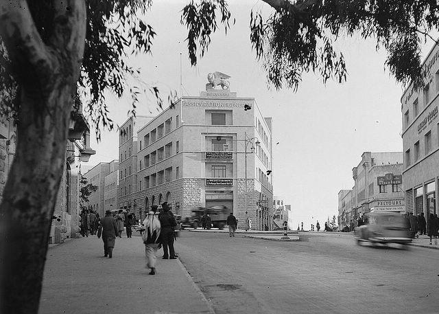 בנין ג'נרלי בשנות ה - 40.