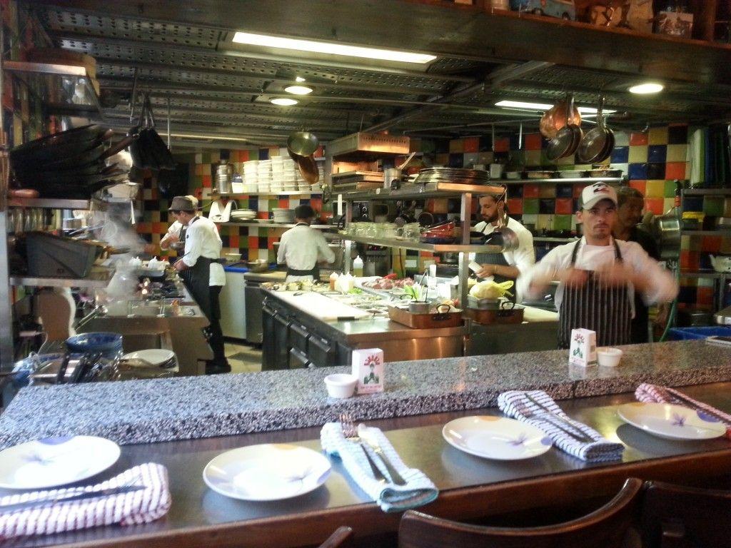 המטבח במסעדת מחניודה